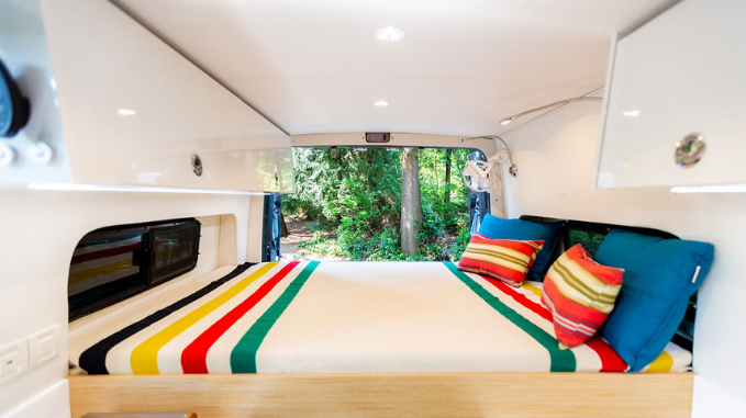 Interior boat cabin